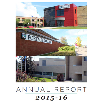 Click to view 2015-2016 Portage College Annual Report