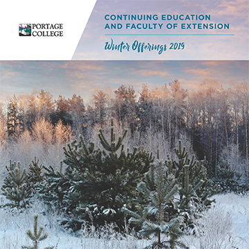 Continuing Education & Faculty of Extension Winter Booklet