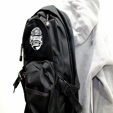 Portage College Backpack