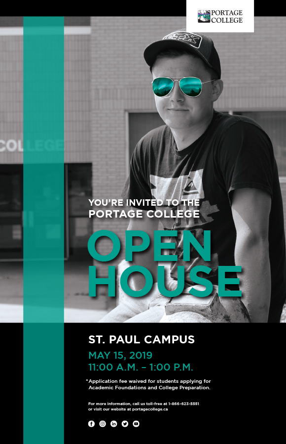 Open House St. Paul Poster