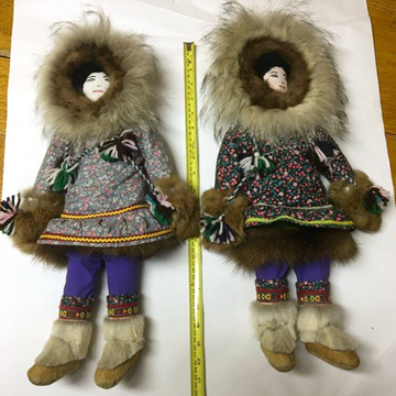 Dolls from Kugluktuk, 1995, Artist Unknown
